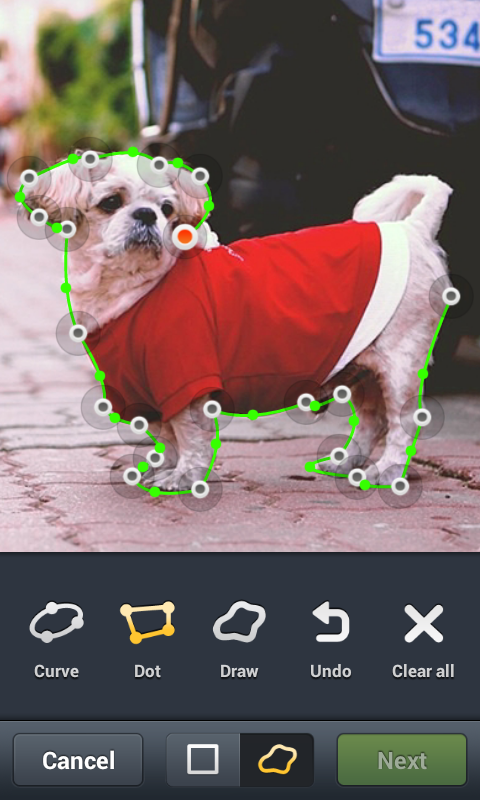 LINE camera - screenshot