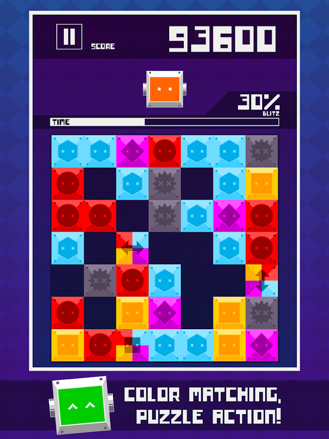 Blitz Block Robo- screenshot