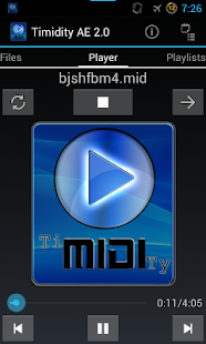 Timidity AE MIDI Player- screenshot thumbnail