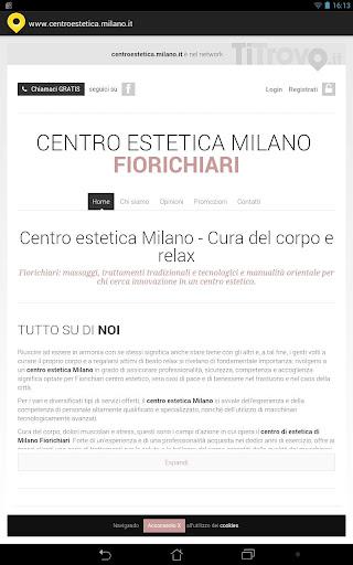 Centro estetica Milano