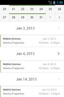Screenshot of ShiftPlanning