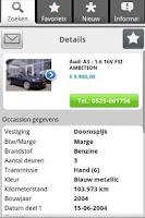 Screenshot of Seldenrijk OccasionApp