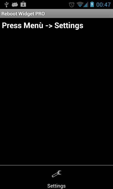 Automatic Reboot Widget PRO- screenshot