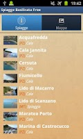 Screenshot of Italian Beaches Basilicata