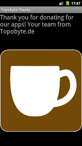 Topobyte Thank You: Coffee