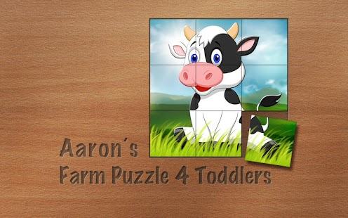 Aaron's Farm Puzzle 4 Toddlers