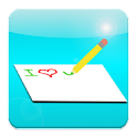 Write Draw Share logo