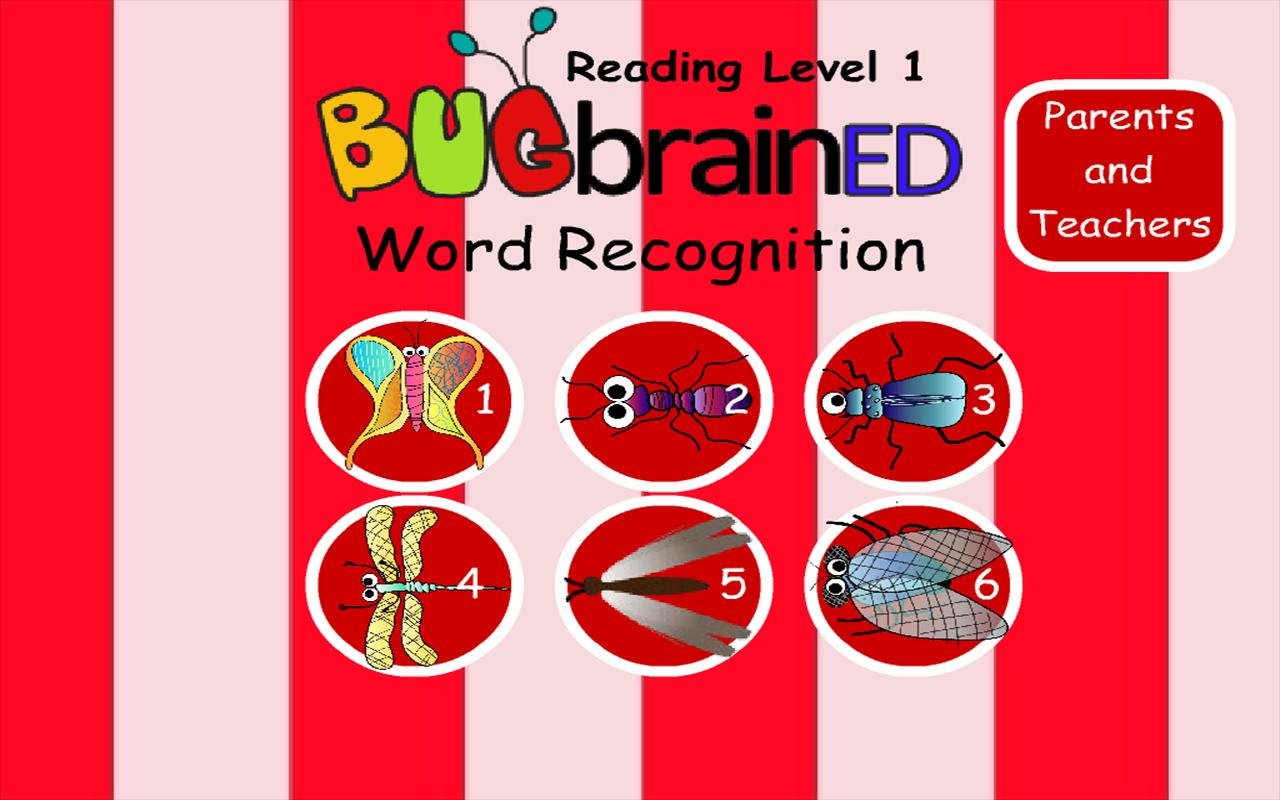 Word Recognition- screenshot