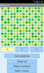 Binary Puzzle Solver Lite- screenshot thumbnail
