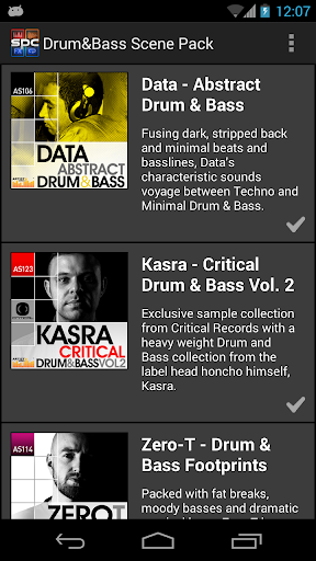 SPC Drum Bass Scene Pack