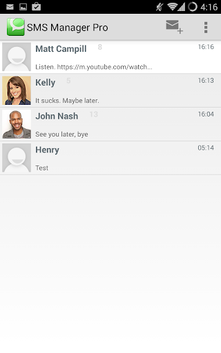 SMS Manager Pro SPAM Filter
