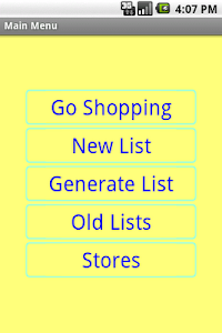 Simple Shopping List screenshot 0