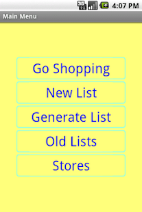 Simple Shopping List - screenshot thumbnail