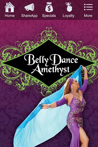 Belly Dance Amethyst