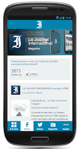 Le Journal International- screenshot thumbnail