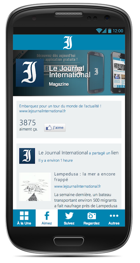 Le Journal International- screenshot