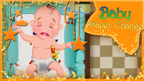 Baby Games - Diaper Change