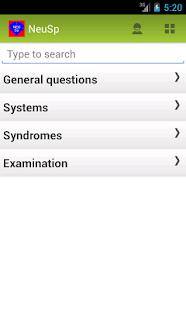 Neurology Interpreter Spanish screenshot for Android