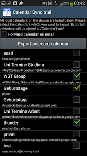 CalendarSync - trial- screenshot thumbnail