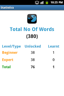 Word Learner Vocab Builder GRE - screenshot thumbnail