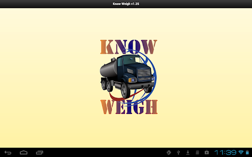 Know Weigh - screenshot thumbnail