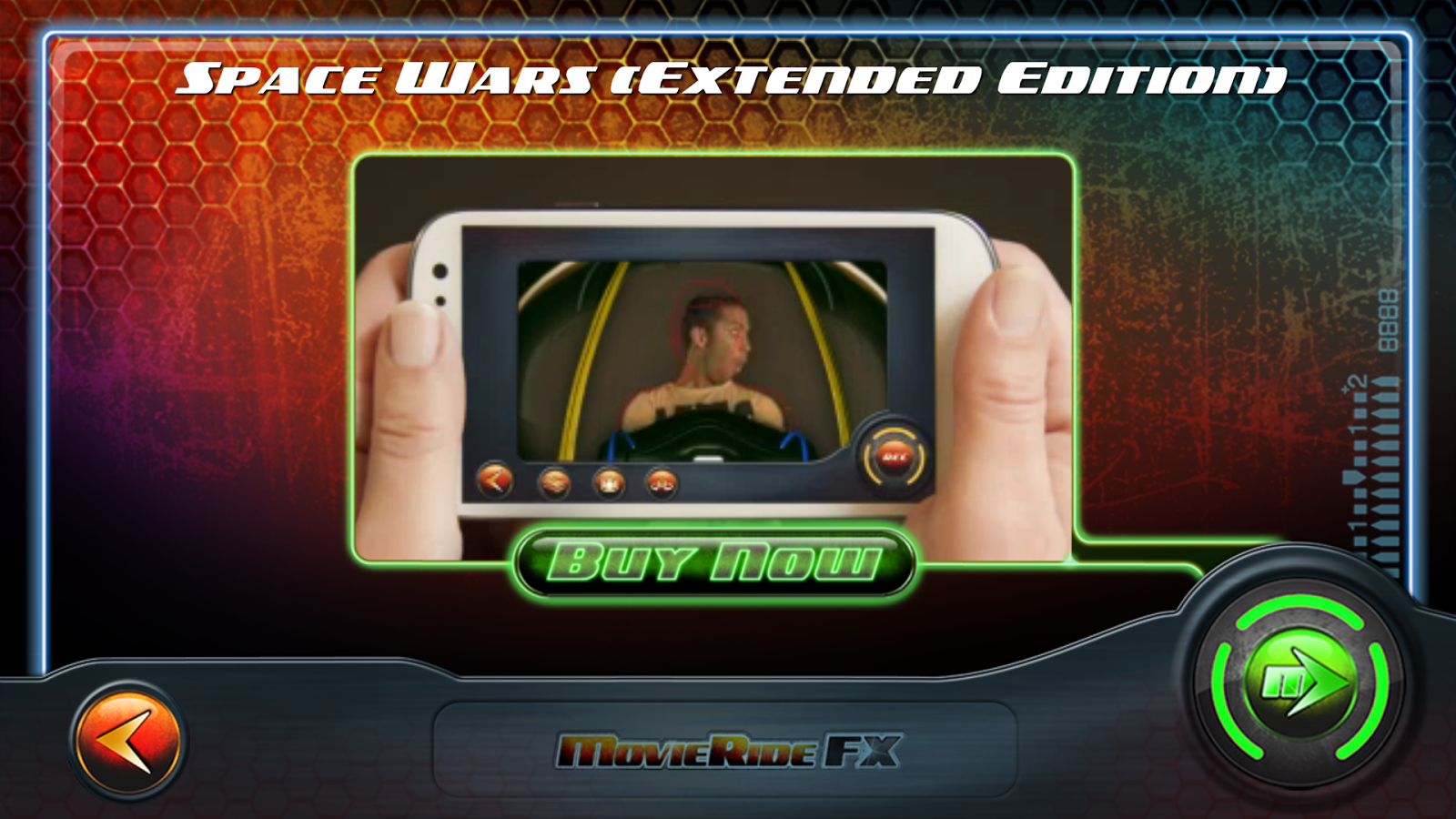 MovieRide FX- screenshot