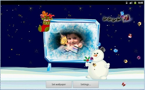 Christmas Card Live Wallpaper - náhled