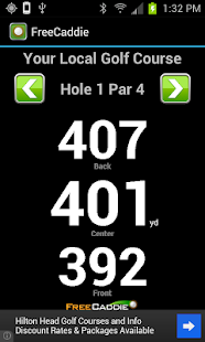 FreeCaddie Golf GPS - screenshot thumbnail