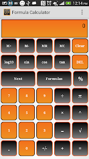 Formula Calculator Free - screenshot thumbnail