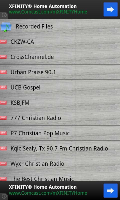 English Gospel Recording Radio- screenshot