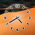 Glass Clock Black icon