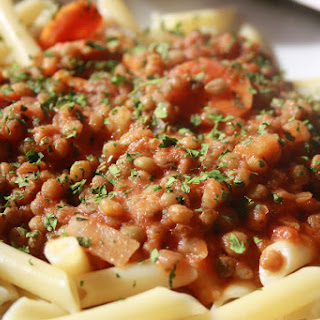 Pasta with Lentils.