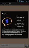 Screenshot of Ultimate BT