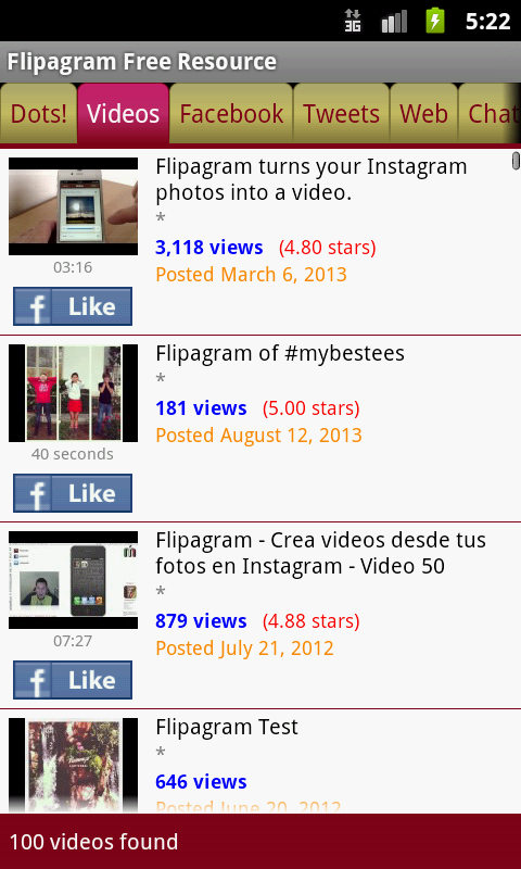 Flipagram Free Resource - screenshot