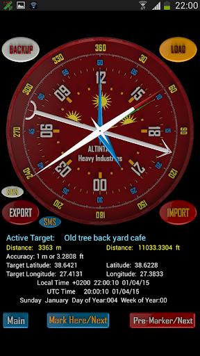 Survivor Compass GPS