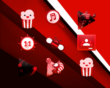 RED - Icon Pack v2.1