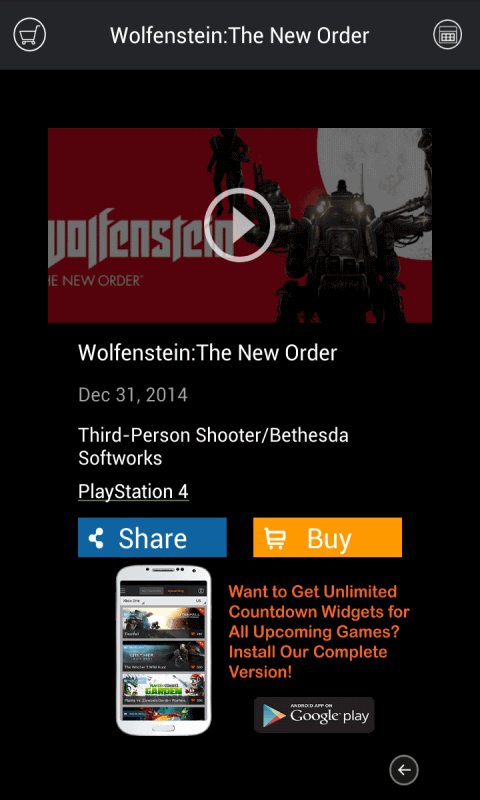 Wolfenstein New Order Timer - screenshot