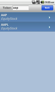 IVolatility Mobile - screenshot thumbnail