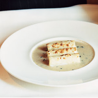 Cannelloni with Truffle Cream