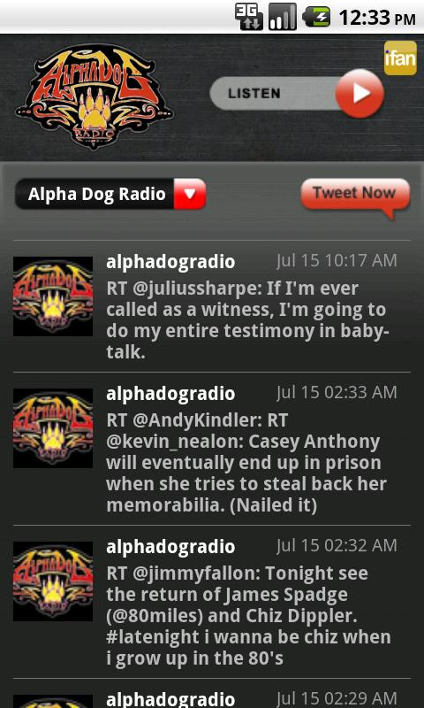 AlphaDog- screenshot