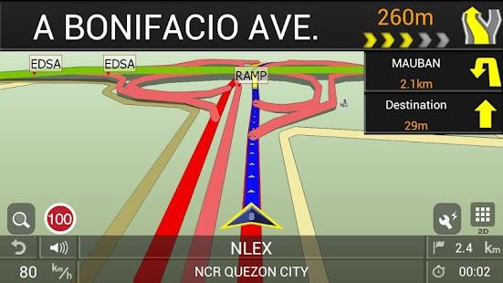 PAPAGO! GPS Navigation PH screenshot