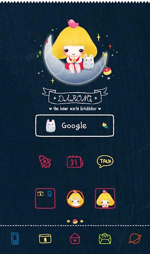 darongi moon dodol theme
