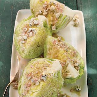 Iceberg Lettuce with Blue Cheese Vinaigrette