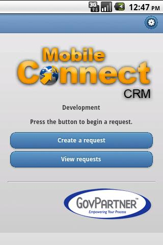 Mobile Connect CRM - screenshot