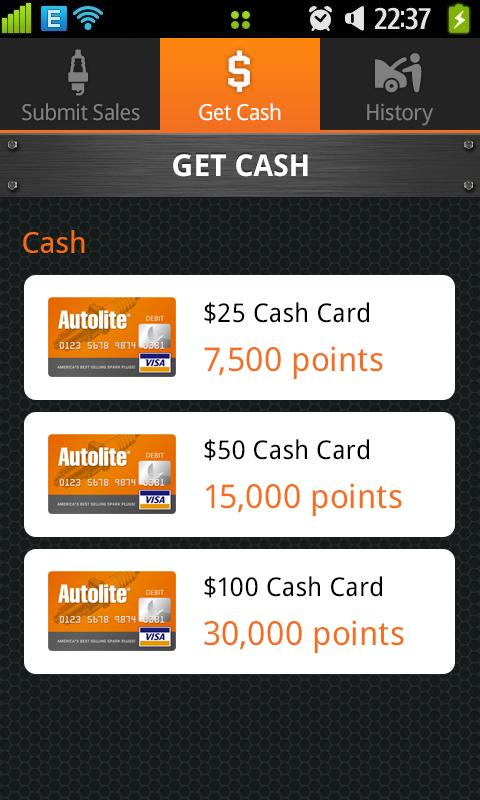 Autolite Rewards- screenshot