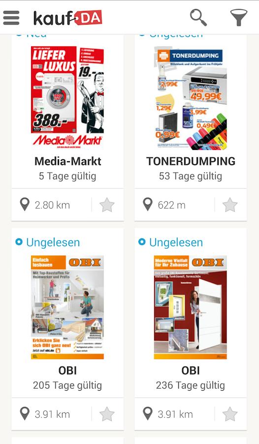 kaufDA - screenshot