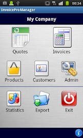 Quotes and Invoices Manager Screenshot 1