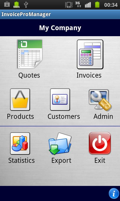Quotes and Invoices Manager - screenshot