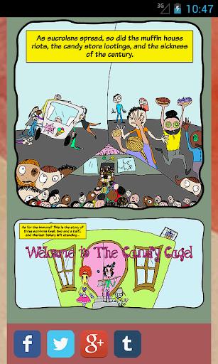 【免費漫畫App】The Candy Cage-APP點子