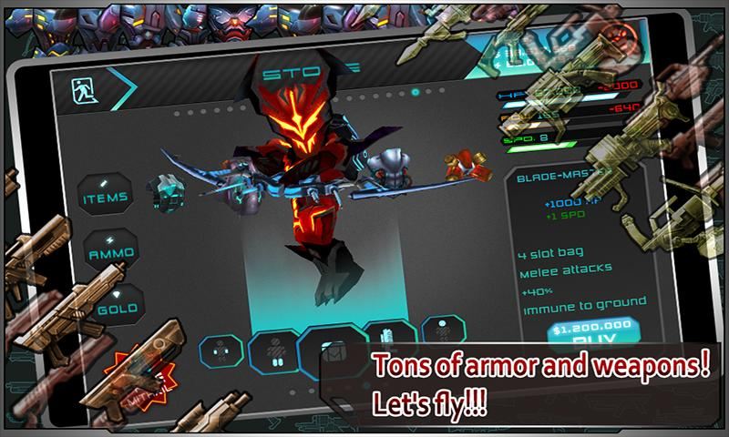 Star Warfare:Alien Invasion HD - screenshot